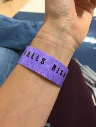Falls Risk Wrist Band